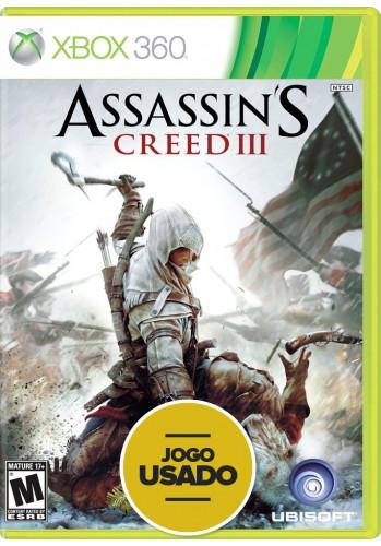 Assassin's Creed 3 (seminovo) - Xbox 360