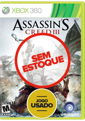 Assassin's Creed 3 (seminovo) - Xbox 360