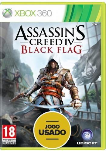 Assassin's Creed 4: Black Flag (seminovo) - Xbox 360