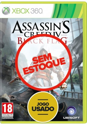 Assassin's Creed 4: Black Flag (seminovo) - Xbox 360