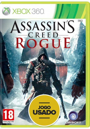 Assassin's Creed Rogue  (seminovo) - Xbox 360