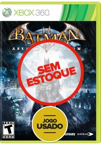Batman: Arkham Asylum (seminovo) - Xbox 360