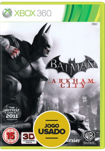 Batman Arkham City (seminovo) - Xbox 360
