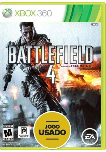 Battlefield 4 (seminovo) - Xbox 360