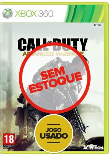 Call of Duty: Advanced Warfare (seminovo) - Xbox 360
