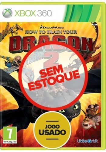 Como Treinar o Seu Dragão 2 (seminovo) - Xbox 360