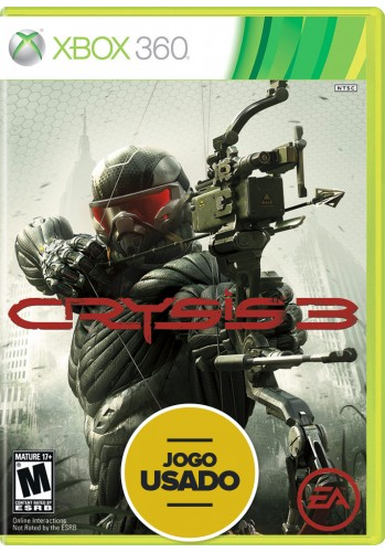 Crysis 3 (seminovo) - Xbox 360