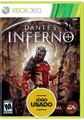 Dantes Inferno  (seminovo) - Xbox 360
