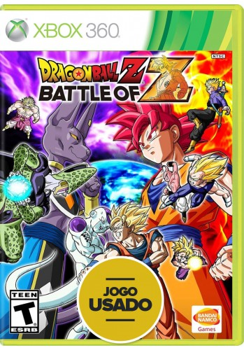Dragon Ball Z: Battle of Z (seminovo) - Xbox 360