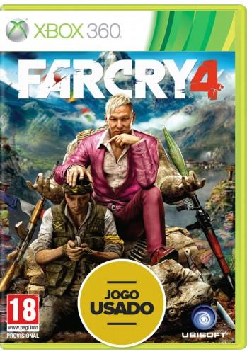 Farcry 4 (seminovo) - Xbox 360