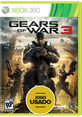 Gears of War 3 (seminovo) - Xbox 360