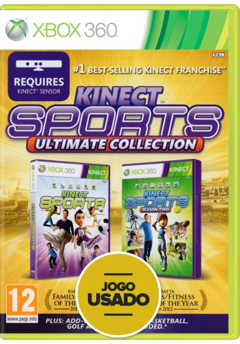Kinect Sports: Ultimate Collection (seminovo) - Xbox 360
