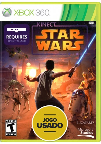 Kinect Star Wars (seminovo) - Xbox 360