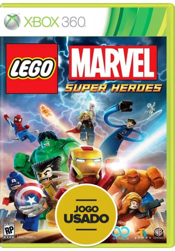 Lego Marvel Super Heroes (seminovo) - Xbox 360