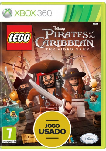 Lego Pirates of the Caribbean: The Video Game (seminovo) - Xbox 360