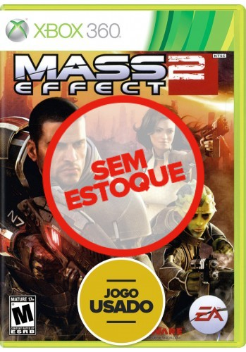 Mass Effect 2 (seminovo) - Xbox 360