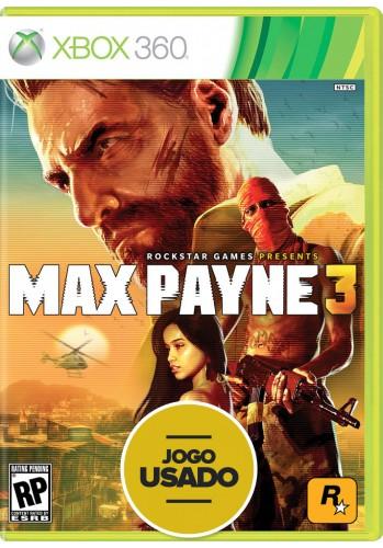Max Payne 3 - Xbox 360 (Usado)