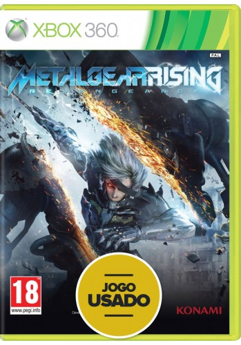 Metal Gear Rising: Revengeance (seminovo) - Xbox 360