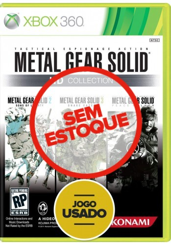 Metal Gear Solid HD Collection (seminovo) - Xbox 360