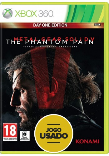 Metal Gear Solid V: The Phantom Pain (seminovo) - Xbox 360