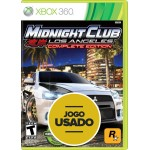 Midnight Club (seminovo) - Xbox 360