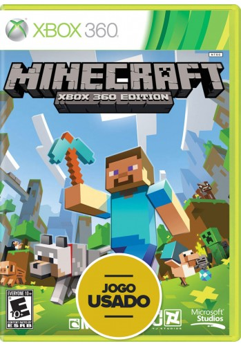Minecraft (seminovo) - Xbox 360