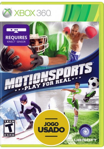 Motion Sports Kinect (seminovo) - Xbox 360