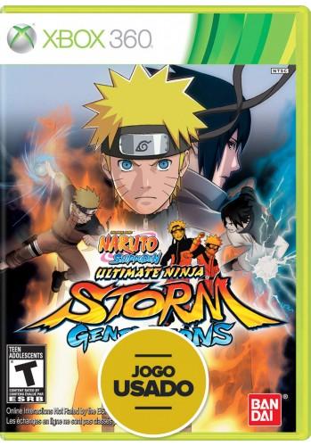 Naruto Shippuden: Ultimate Ninja Storm Generations (seminovo) - Xbox 360