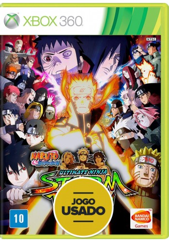 Naruto Shippuden: Ultimate Ninja Storm Revolution - Xbox 360 (Usado)