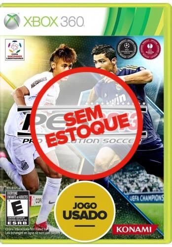 PES 13 (seminovo) - Xbox 360
