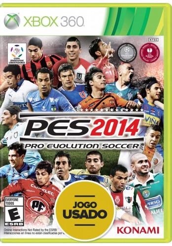 PES 2014 (seminovo) - Xbox 360