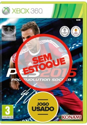 PES 2015 (seminovo) - Xbox 360