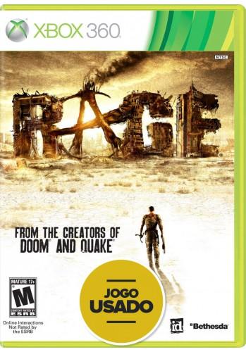 Rage (seminovo) - Xbox 360