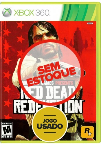 Red Dead Redemption (seminovo) - Xbox 360