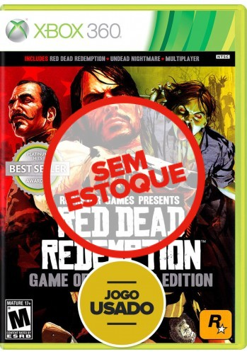 Red Dead Redemption - Game of the Year Edition (seminovo) - Xbox 360