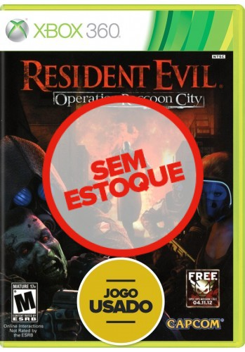 Resident Evil: Operation Raccoon City - Xbox 360 ( Usado )
