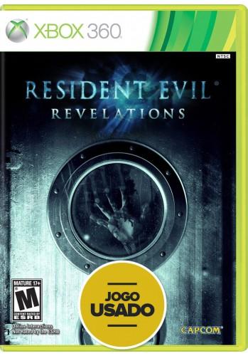 Resident Evil: Revelations - Xbox 360 (Usado)
