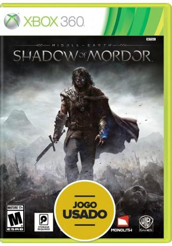 Terra-Média: Sombras de Mordor (seminovo) - Xbox 360