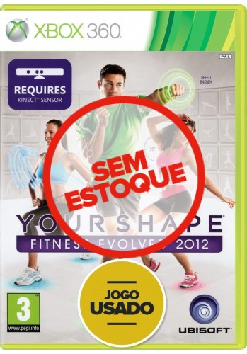 Your Shape Fitness Evolved 2012 (seminovo) - Xbox 360