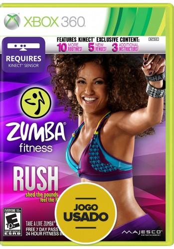 Zumba Fitness Rush (seminovo) - Xbox 360