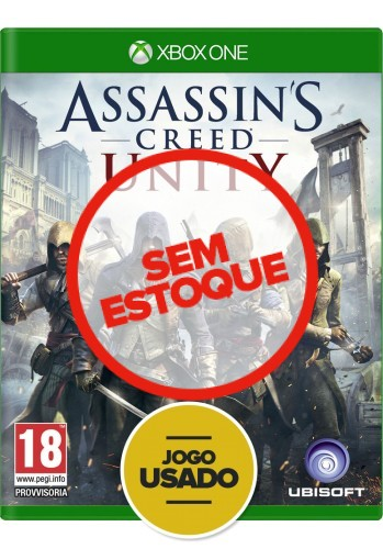 Assassin's Creed Unity (seminovo) - Xbox One
