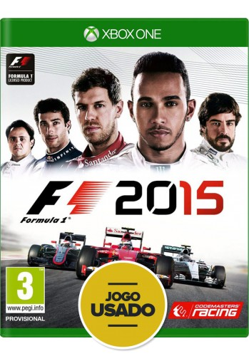 Formula 1 2015 (seminovo) - Xbox One