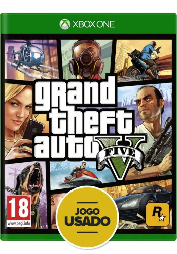 GTA V (Grand Theft Auto) - Xbox One ( Usado )