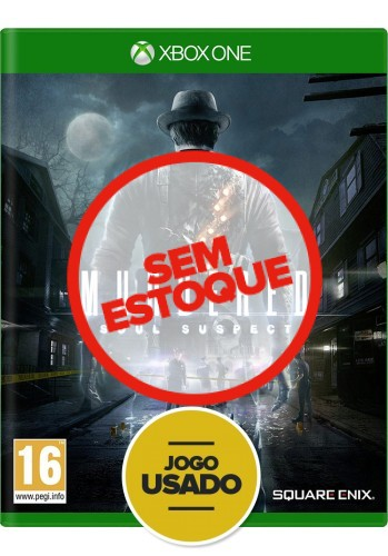 Murdered Soul Suspect (seminovo) - Xbox One