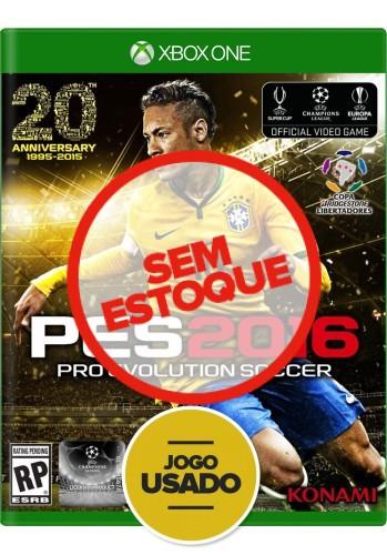 PES 2016 (seminovo) - Xbox One
