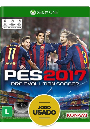 PES 2017 (seminovo) - Xbox One