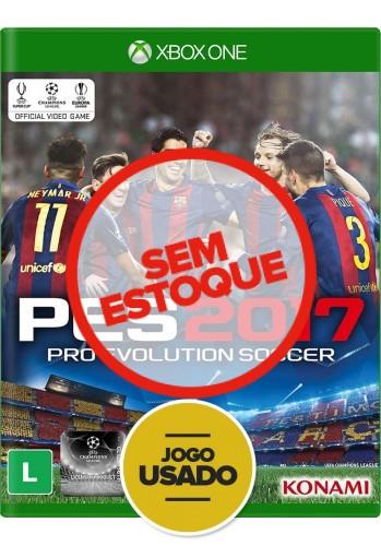 PES 2017 (seminovo) - Xbox One
