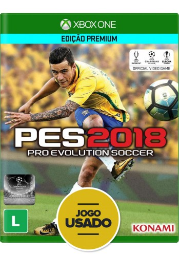 PES 2018: Pro Evolution Soccer - Xbox One (Usado)