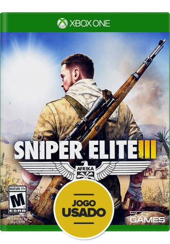 Sniper Elite 3 (seminovo) - Xbox One