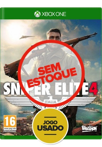 Sniper Elite 4 - Xbox One (Usado)